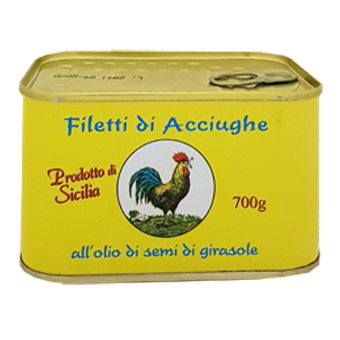 ACCIUGHE FILETTI GR.700 -