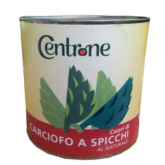 CARCIOFI SPICCHI AL NATURALE KG.3 -