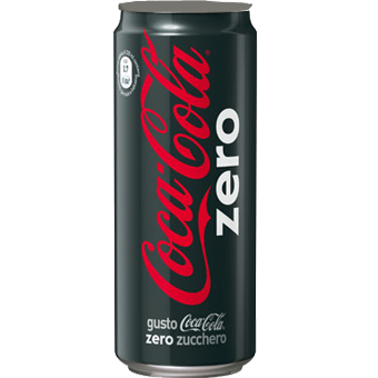 COCA COLA ZERO LATTINA CL.33 -