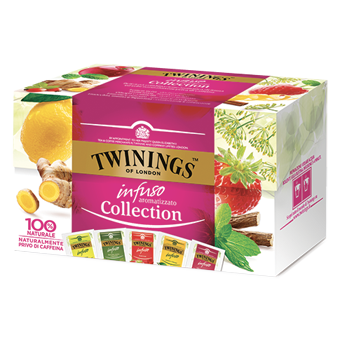 TWININGS INFUSIONS COLLECTION 20 FILTRI -