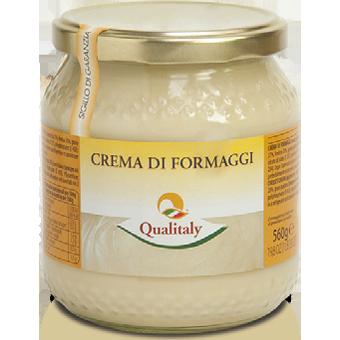 """CREMA DI FORMAGGIO """"QUALITALY""""  ML.580 -"""