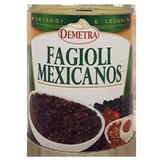 FAGIOLI MEXICANOS GR.900 IN LATTA - Demetra