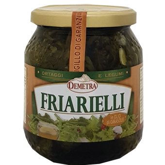 FRIARELLI IN OLIO GR.800 -