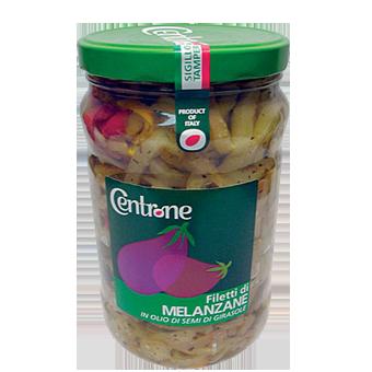 MELANZANE FILETTI OLIO KG.1,55 -