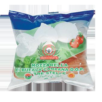 MOZZARELLA DI BUFALA GR.500 MARCA PARADISO -