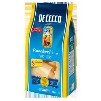 """PASTA """"DE CECCO"""" PACCHERI GR.500 -"""