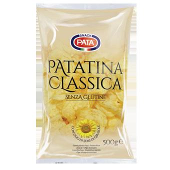 PATA PATATINE CLASSICHE GR.500-FORMATO RISPARMIO - Pata Patatine
