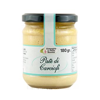 """PATE DI CARCIOFI GR.180 """"COMPAGNIA DEL PESTO"""" - Compagnia del Pesto Genovese"""