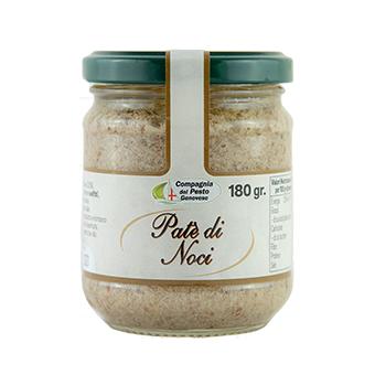 """PATE DI NOCI GR.180 """"COMPAGNIA DEL PESTO"""" - Compagnia del Pesto Genovese"""