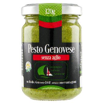 Pesto Buonissimo Gr.120 senza aglio - Compagnia del Pesto Genovese