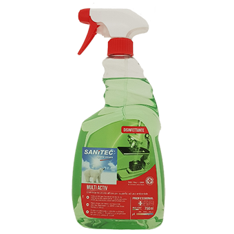 SANITIZZANTE MULTI ACTIV ML.750 - Sanitec