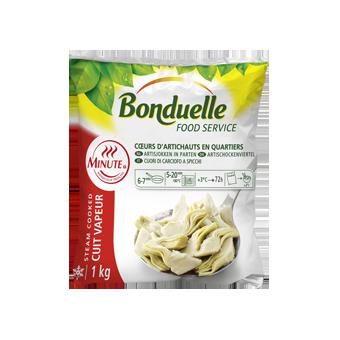 CARCIOFI TAGLIATI PRECOTTI BONDUELLE KG.1 - Bonduelle