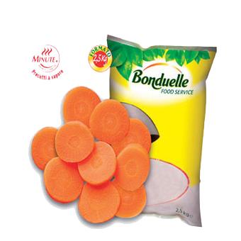 CAROTE A RONDELLE MINUTE PRECOTTE BONDUELLE KG.2,5 - Bonduelle