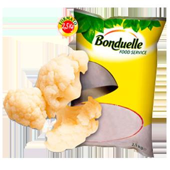 CAVOLFIORI A ROSETTE PRECOTTI A VAPORE BONDUELLE KG.2,5 - Bonduelle