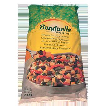 CONTORNO FANTASIA MEDITERRANEA PRECOTTA BONDUELLE KG.2,5 - Bonduelle