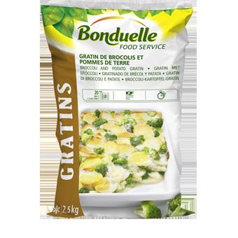 GRATIN BROCCOLI E PATATE PRECOTTI BONDUELLE KG.2,5 - Bonduelle
