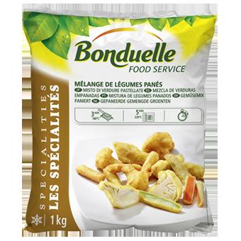 ORTAGGI MISTI PASTELLATI KG.1 BONDUELLE          - Bonduelle