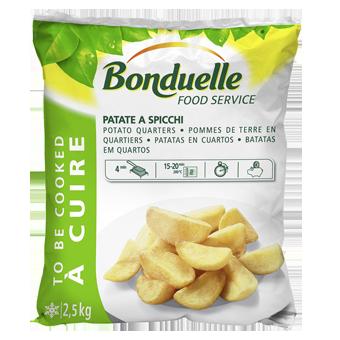 PATATE SPICCHI BONDUELLE KG.2,5 - Bonduelle