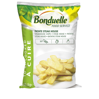 PATATE STEAK HOUSE BONDUELLE KG.2,5 - Bonduelle