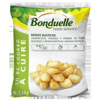 PATATE RUSTICHE TRADIZIONALI BONDUELLE KG.2,5 - Bonduelle
