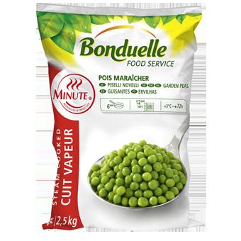 PISELLI FINI PRECOTTI A VAPORE BONDUELLE KG.2,5 - Bonduelle
