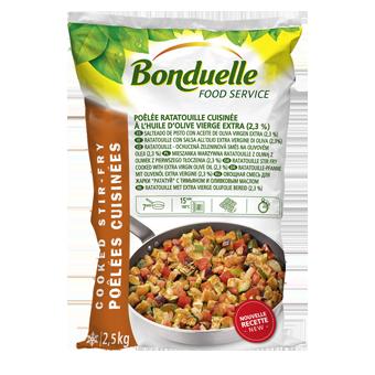 RATATOUILLE ALL'OLIO DI OLIVA BONDUELLE KG.2,5 - Bonduelle