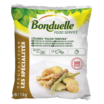 TEMPURA DI VERDURE BONDUELLE - Bonduelle