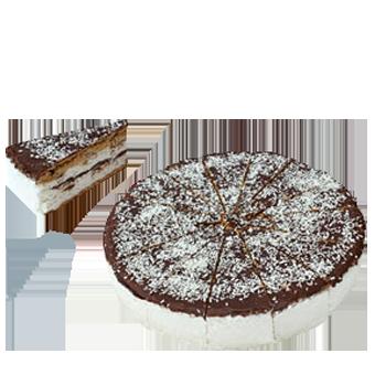 TORTA RICOTTA COCCO CIOCCO KG.1,2 (12 FETTE) -