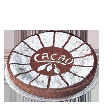 TORTA CIOCCOLATO PRETAGLIATA KG.1,3 (16 FETTE) -