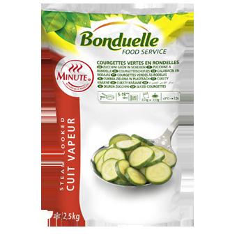 ZUCCHINE A DISCO PRECOTTE A VAPORE BONDUELLE KG.2,5 - Bonduelle