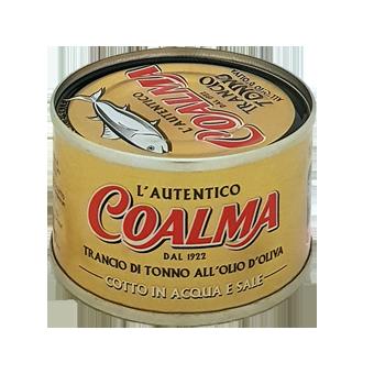 TONNO COALMA OLIO OLIVA GR.100 -