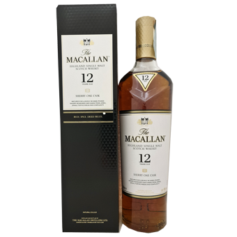 MACALLAN 12 YO SHERRY OAK CASK 40° CL.70 -