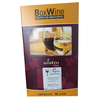 BAG IN BOX VINO BIANCO LT.10 -
